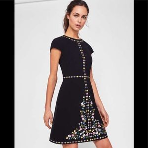 Ted Baker Jeorjia Hampton Court Embroidered Dress